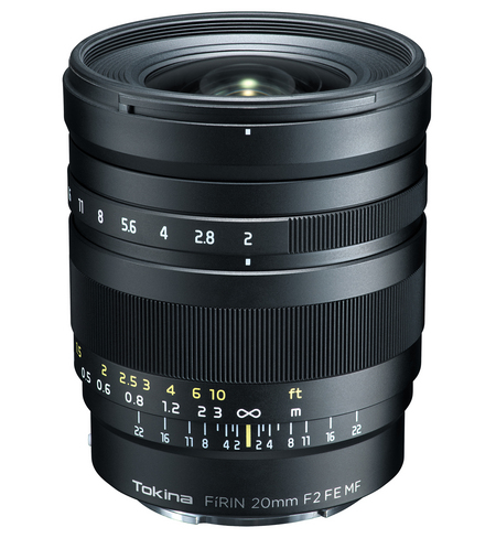 FíRIN 20mm F2 FE MF Sony E mount